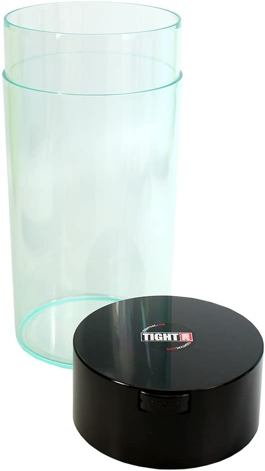 Tightvac - 5oz to 24 Ounce Vacuum Sealed Container - White Cap/White Body Schwarzer Kappenkörper