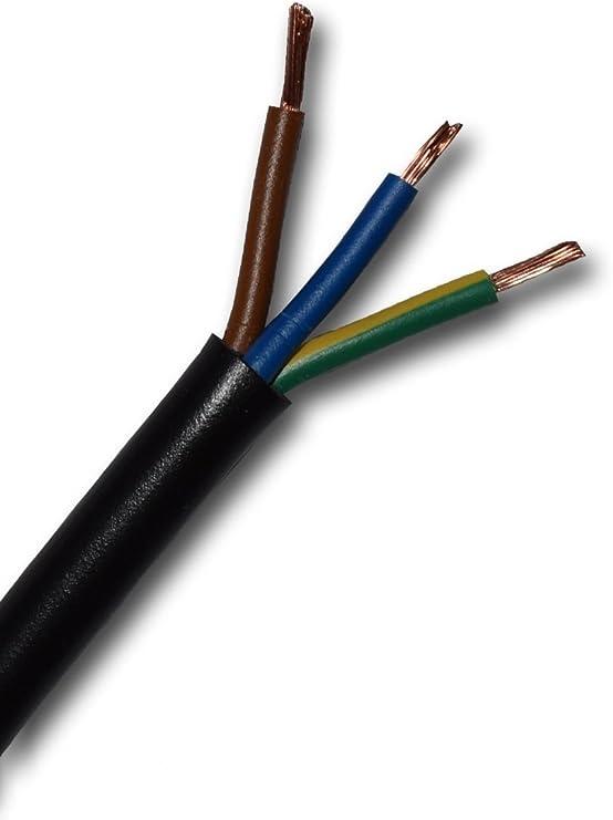 Gummikabel H07RN-F 5x1,5 qmm 1 m Lieferung in einer Länge