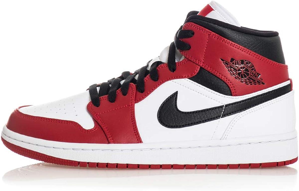 Nike Air Jordan 1 Mid Zapatillas de b/ásquetbol para Hombre