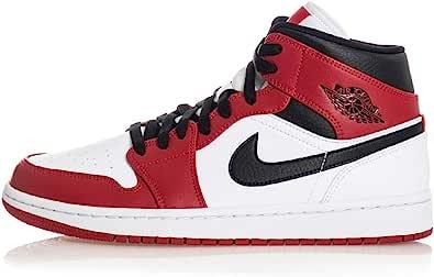 Tênis masculino Jordan Nike Air 1 Médio Chicago 554724-173