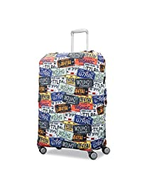 Samsonite 91247-6439 Printed Luggage Cover - Extra Large, Infinity Grey, International Carry-On