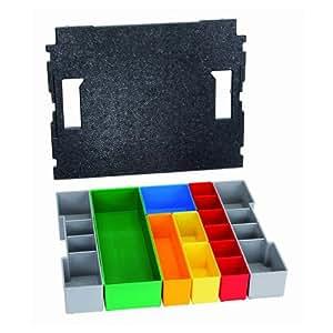 Bosch 2 608 438 026  - Set de 13 cajas interiores para L-BOXX 102 - 418 x 322 x 75 mm (pack de 1)