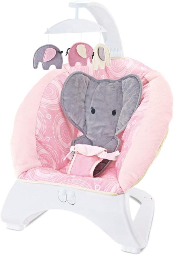 ZLMI Silla Mecedora para bebés, música Cuna para bebés reclinable ...