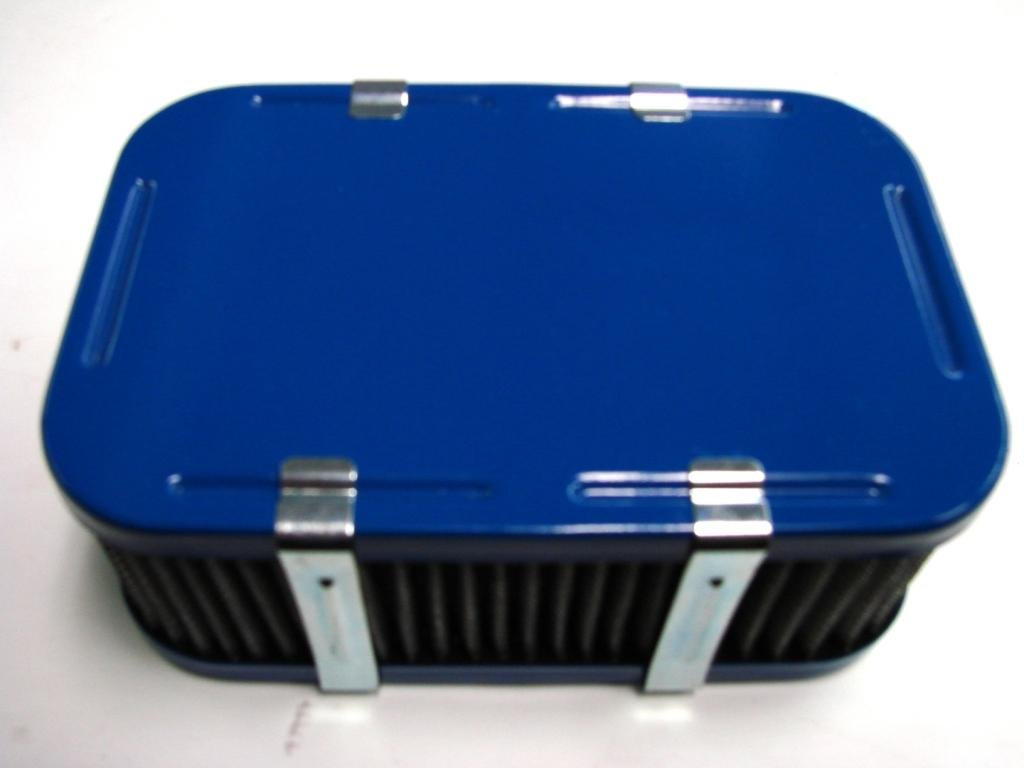 Weber Carburetor Air Cleaner Powder Coated Blue DGV DGAV DGEV 32//36 2 1//2 Allstate Carburetor AC2000F-1