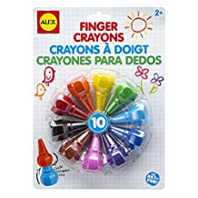 Alex Toys Finger Crayons (Set Of 10)