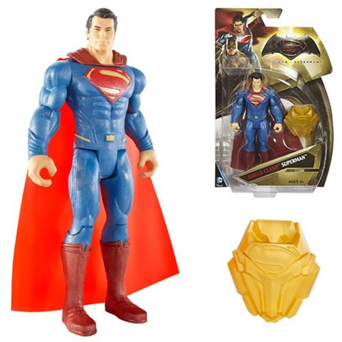 Batman v Superman: Dawn of Justice Shield Clash Superman 6″ Figure