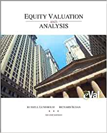 equity valuation and analysis lundholm pdf