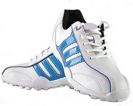 CGBF-Zapatos de Golf Los Niño, Zapatos Corrientes Al Aire Libre a Prueba de Agua y Transpirable Zapatillas de Deporte Ligera Zapatos Correr: Amazon.es: Deportes y aire libre