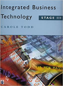 Integrated Business Technology: Stage 3