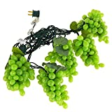 Firefly Imports Plastic Green Grapes Christmas String Lights, 100 LED, 8-Inch