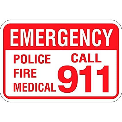 Amazon com: VictorJoan Emergency Police Fire Medical Call