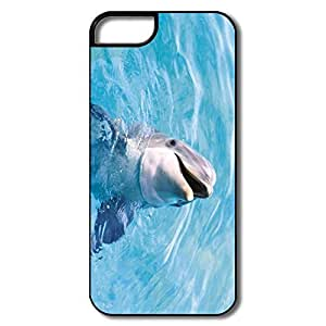 IPhone 5 Cases, Dolphin Performance Cases For IPhone 5S - White/black Hard Plastic