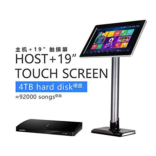 Chinese Karaoke (InAndon karaoke player KV-306 (Black single host + 19 inch touch screen, 4TB(9,2000 Songs)))