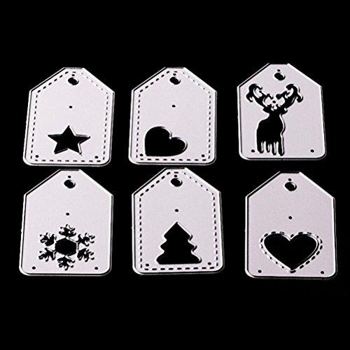 Metal Die Cutting Dies Stencil for DIY Scrapbooking Album Paper Card Decor Craft by Topunder Z