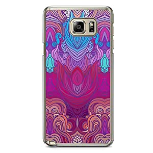 Hairs Samsung Note 5 Transparent Edge Case - Design 13