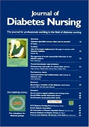 Journal of Diabetes Nursing PDF
