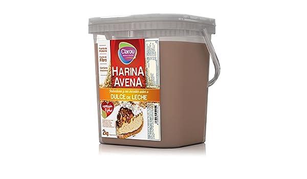 Clarou Harina de Avena con sabor a Dulce de Leche - 2 kg: Amazon.es: Alimentación y bebidas