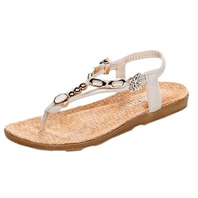 Roman Pour Boucle Talon Toe Soirée Plates Scothen Sandales Compensé Casual Plat Femme Chaussures Femmes Peep yvnm8ON0w