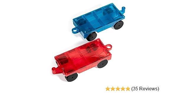 Mag-Genius Magnet Tiles Car Set Magnet Car Truck Train Magnet Building tile