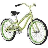 Diamondback Bicycles Youth Girls 2015 Miz Della Cruz Complete Cruiser Bike, Green