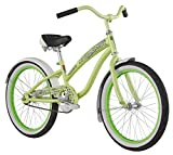 Diamondback Bicycles Youth Girls 2015 Miz Della Cruz Complete Cruiser Bike, Green