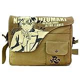 Joyralcos Japanese Anime Messenger Bag Crossbody Canvas Cosplay Shoulder Bag for Boys Girls (Uzumaki Naruto)