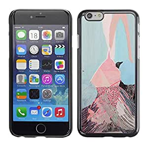 LASTONE PHONE CASE / Slim Protector Hard Shell Cover Case for Apple Iphone 6 Plus 5.5 / Pink Ice Cream Painting Art