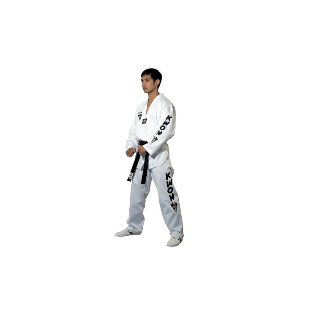 Kwon Divisa da Sport di Combattimento Taekwondo Starfighter Interno Bianco