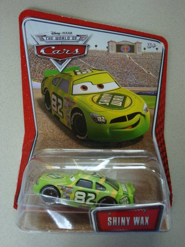 - Disney / Pixar CARS Movie 155 Die Cast Car Series 3 World of Cars Shiny Wax by Mattel