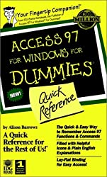 Access 97 for Windows for Dummies Quick Reference