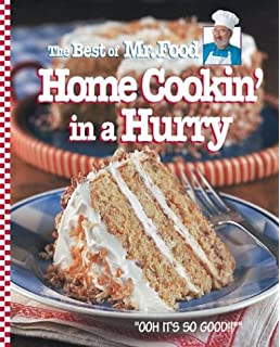 The mr food cookbook art ginsburg 9780688092580 amazon books the best of mr food home cookin in a hurry forumfinder Gallery