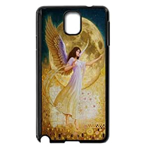 Elegent Angel,Angel Love Us Productive Back Phone Case For Samsung Galaxy NOTE4 Case Cover -Pattern-5