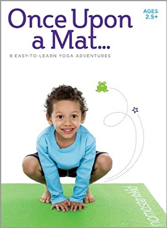 Kids Yoga DVD - Once Upon a Mat - Children Ages 2.5+ by ...