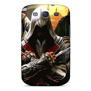 New Arrival Galaxy S3 Case Assassins Creed Case Cover