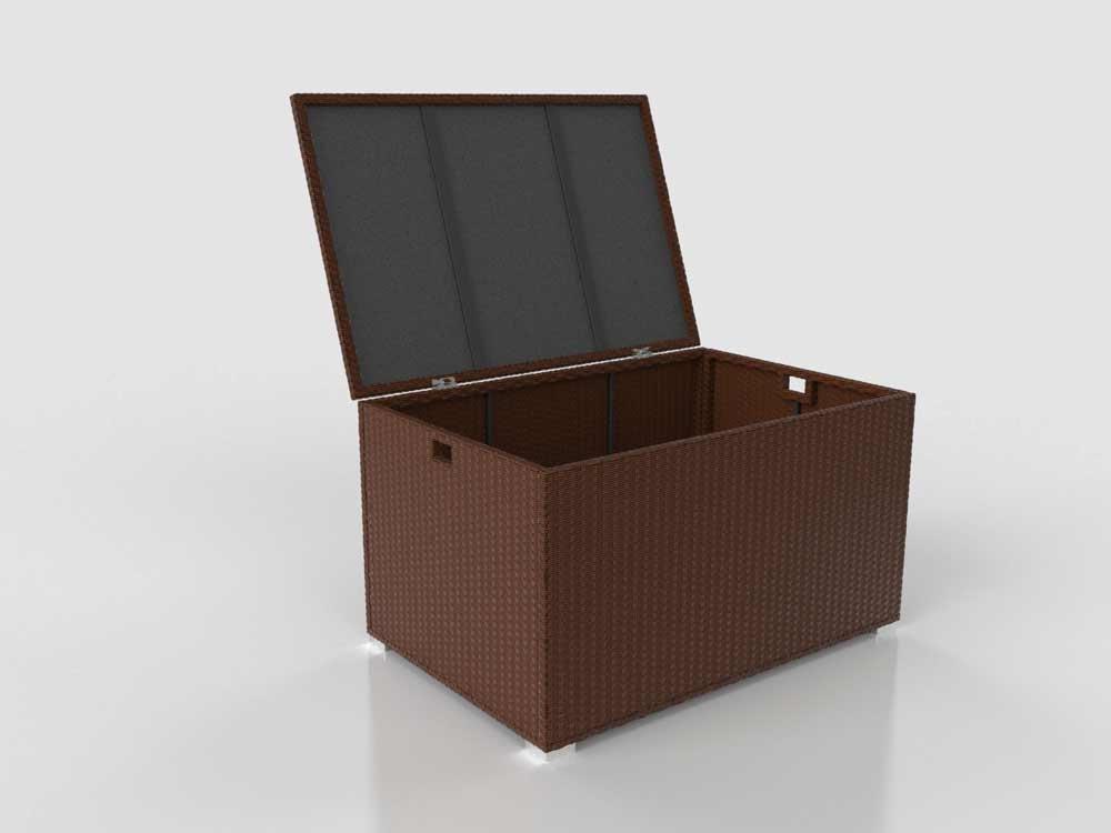 ARTELIA Auflagenbox Corlicante S, Braun