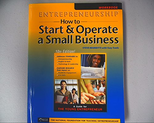 Entrepeneurship: How to Start & Operate a Small Business, Blackline Masters
