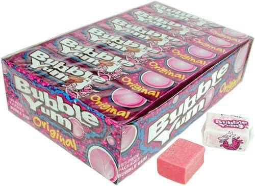 Bubble Yum Gum Original packages