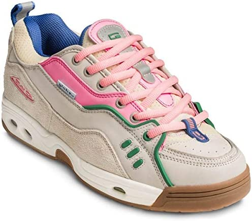 Globe Ct-Iv Classic, Men's skateboarding shoes Skateboarding Shoes, Multicolour (Silver Birch/Pink/Gum 000), 7.5 UK (41 EU)