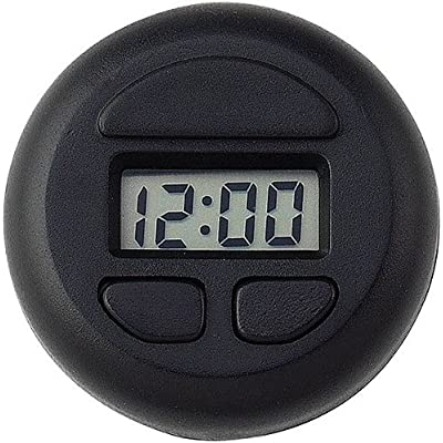 3 Pack Bell Automotive 37003 Stick-On Spot Clock - Black: Automotive