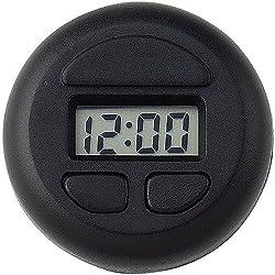 Bell Automotive 37003 Stick-On Spot Clock - Black, 1 Pack
