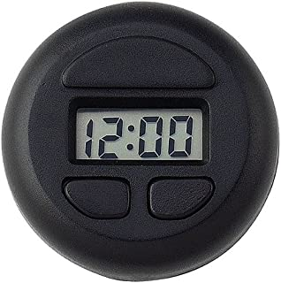 3 Pack Bell Automotive 37003 Stick-On Spot Clock - Black