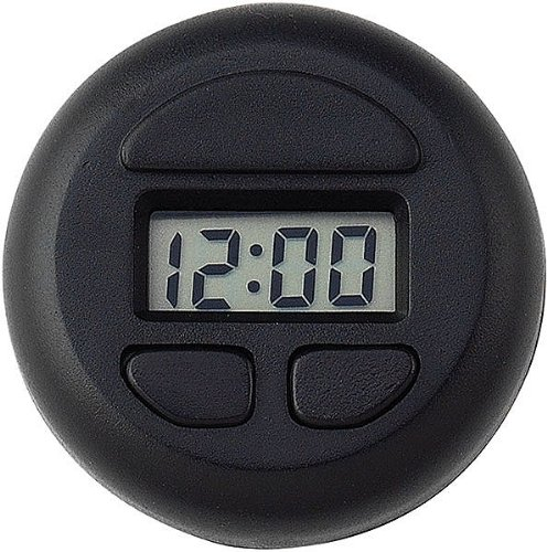 (Bell Automotive 37003 Stick-On Spot Clock - Black)