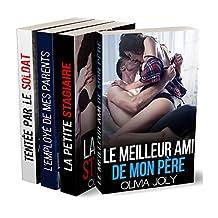 COMPILATION POUR ADULTES : 4 Nouvelles très érotiques et taboues à un prix exceptionnel ! (French Edition)