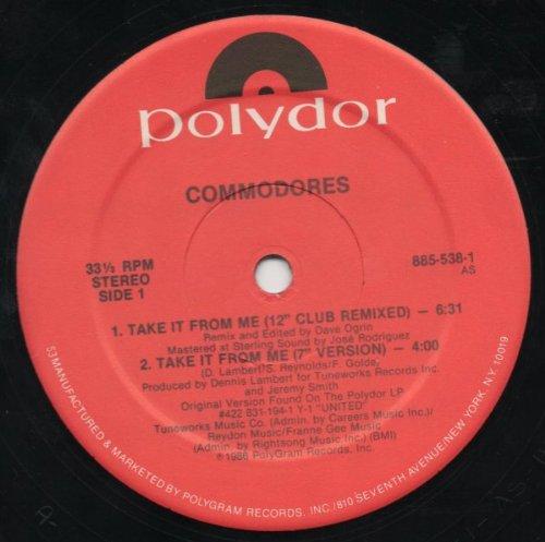 Take It From Me [12 inch VINYL Single] (538 Single)
