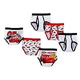 Disney Pixar Cars Boys 4-8 3 Pack Brief Underwear (8, Multi)