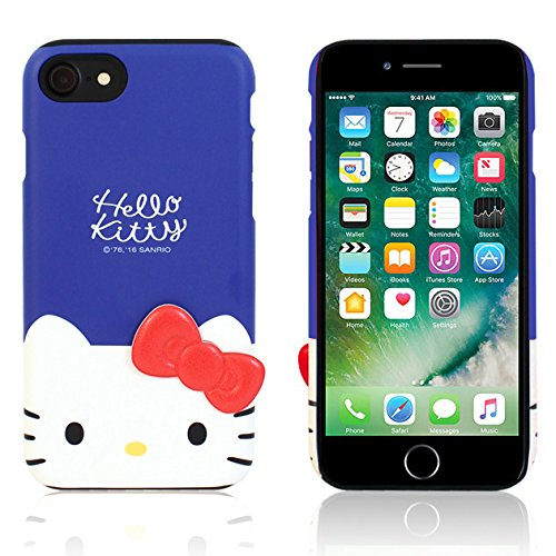 newest collection fdebf e2d90 Amazon.com: iPhone 8 PLUS / iPhone 7 PLUS Case Hello Kitty Cute Bow ...