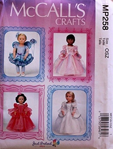 Fairy Doll Pattern (McCALL'S MP258 18