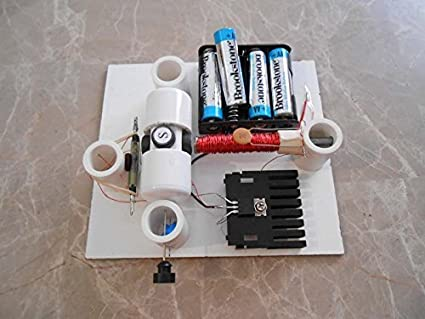 Amazon.com: Simple Electric Reed Switch Motor Kit with Transistor ...