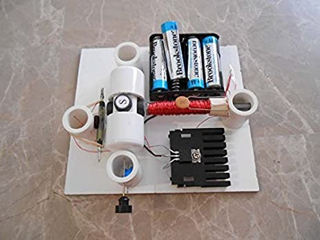 simple electric motor with switch. Simple Electric Reed Switch Motor Kit With Transistor - DIY Science Projects \u0026 Kids Education