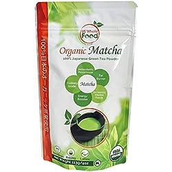 US Whole Food Premium Japanese Matcha Green Tea Powder,4 Ounce,100% USDA Organic